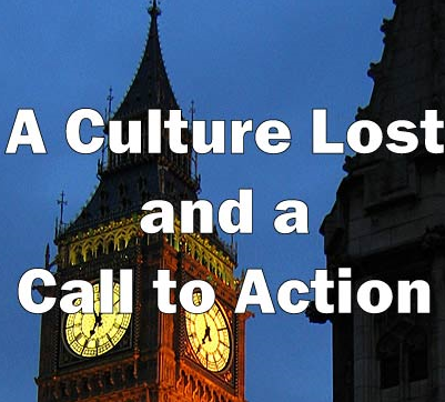 A Culture Lost and a Call to Action
