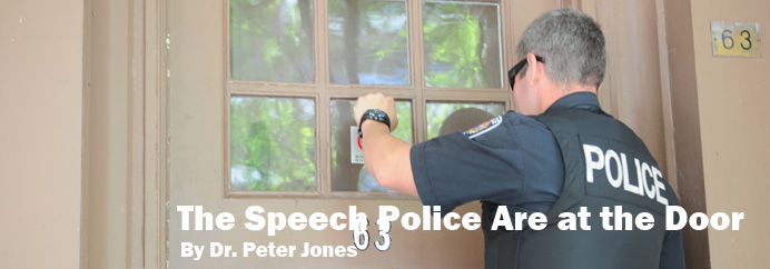The Speech Police Are at the Door